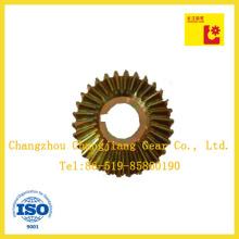 DIN ANSI Standard Spiral Bevel Worm Gear for Transmission Gearbox