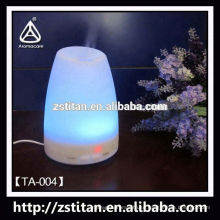 Fashion design color changing humidifier lcd