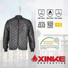 Algodão / Nylon Fire retardador Jacket