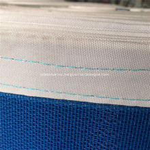 Blue Food Machinery Conveying Polyester Mesh Belt