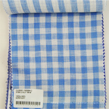 professional breathable wrinkle free linen fabric stock