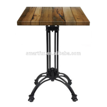 mesa de centro de metal 4 taburetes
