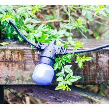 SLT-1202 E26 14AWG lampe titulaire LED festons Bulb Ceinture chaîne Lumière intérieure ou extérieure pour noël