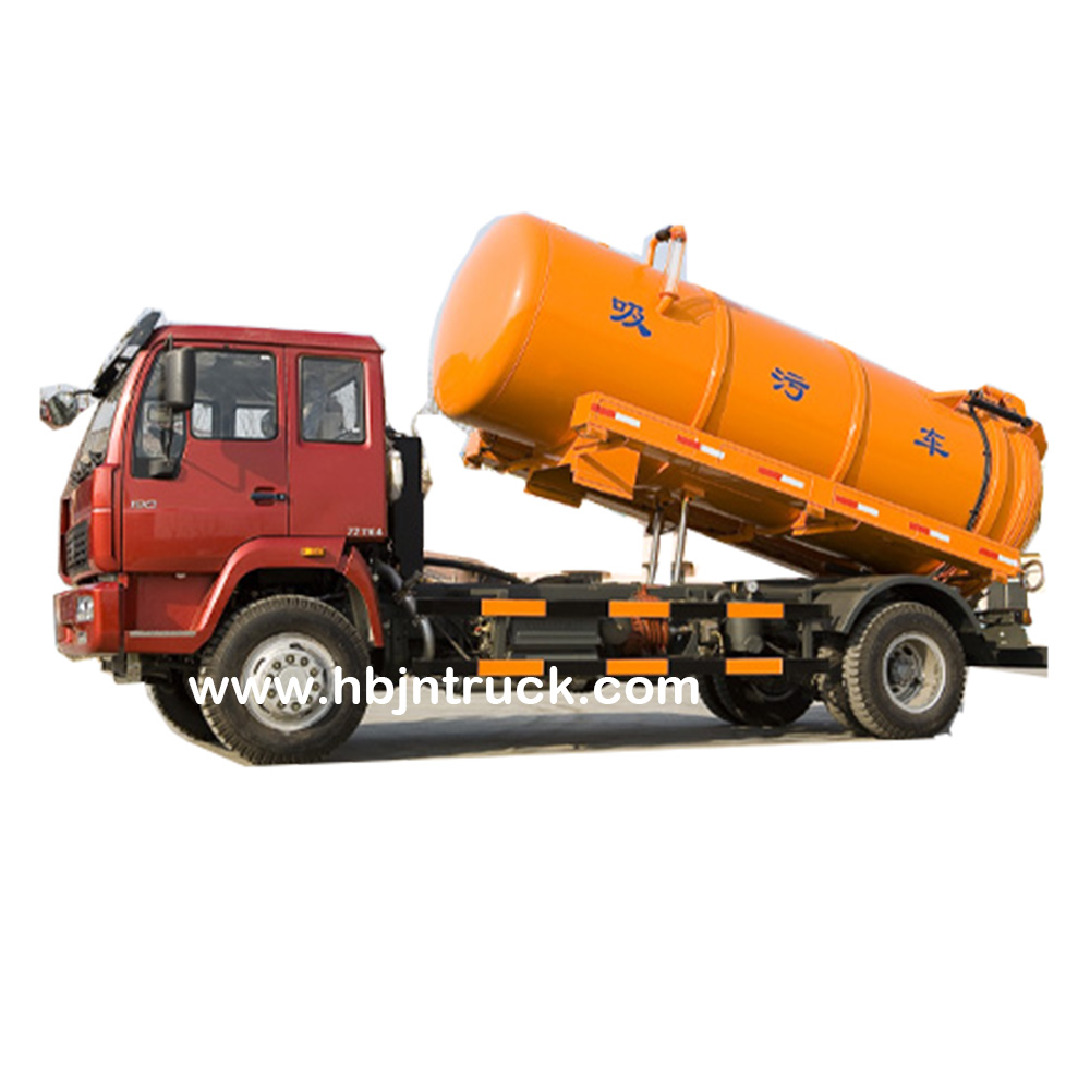 Fecal Suction Tank Truck