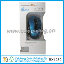 Cardboard Mouse Packing Paper Box with Clear Window