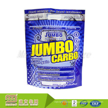 Custom 1Kg 2Kg Stand Up Nutritional Supplement Food Packaging Whey Protein Powder Pouch