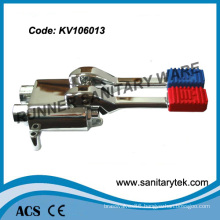Double Foot Operated Floor Mounted Mixing Valve (KV106013)