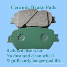 Hochwertiges keramisches Bremsbelag