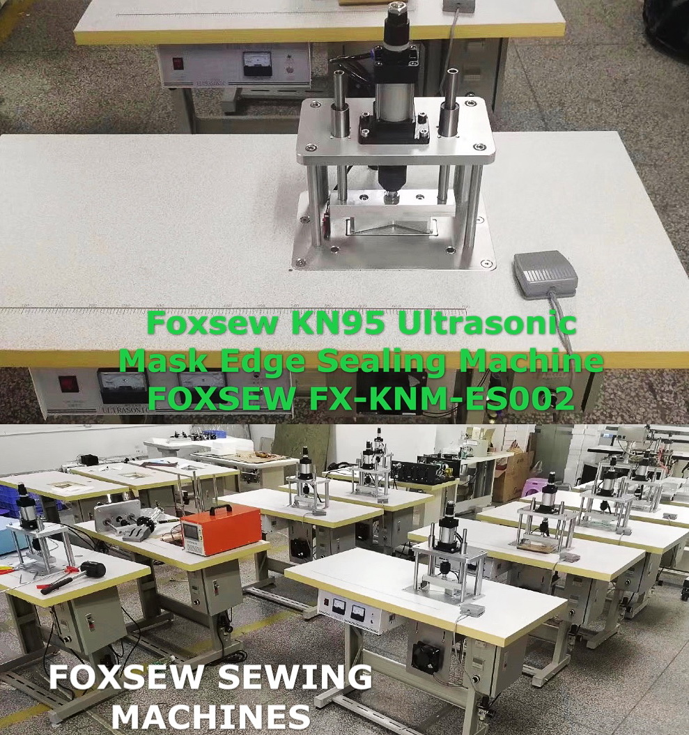 Ultrasonic KN95 Mask Edge Welding Sealing Machine FOXSEW FX-KNM-ES002
