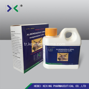 Albendazole Suspension 10% Sığır