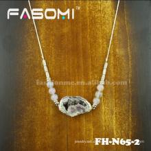 handgefertigte künstliche große steinerne Pandant Halsketten