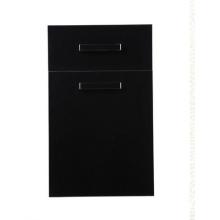 Porte-meuble en stratifié noir (plus de 100 couleurs à choisir)