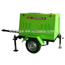 5KW 230A electric start silent portable Diesel welding machine generator