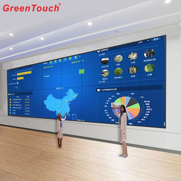 "169 ""Ir Commercial Touch Screen TV Wall 6 * 55"""