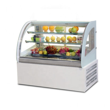 Mini sushi display refrigerador fruta frezzer