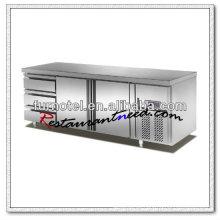 R100 2 Türen 3 Schubladen Fancooling Counter Top Kühlschrank Marken