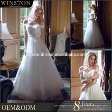 Alibaba Guangzhou Dresses Factory wedding dresses detachable train