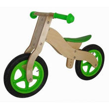 "Wooden Bike 12"" Kicker/Balance Kid Bicycle/Balance Scooter"