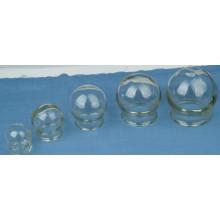 Pot à ventouses en verre pour la thérapie et le massage par ventouses chinoises