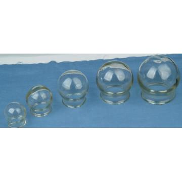 Jarra de vidro para terapia e massagem chinesa