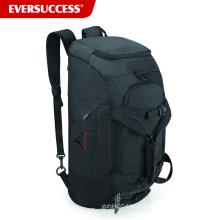 BSCI Factory Convertible Gym Bag, mochila com sapatos e compartimento de bola (ESC-SB100)