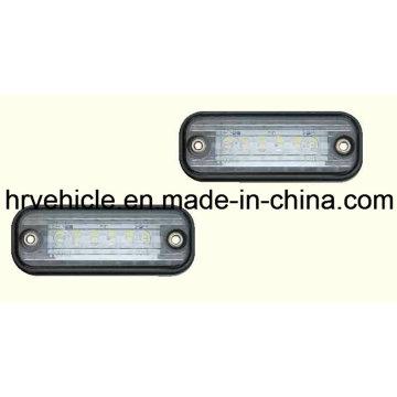 Lampe de marquage latéral LED blanche pour camion