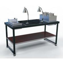 Moderna mesa de buffet / estación de fideos (DE47)