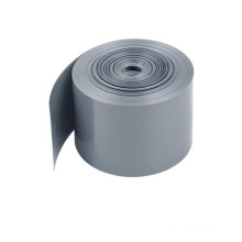 Low Voltage Gray Blank Battery PVC Heat Shrink Vinyl Tube
