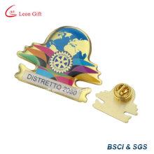 Cinc aleación plata 3D insignia Metal Pin con su propio diseño