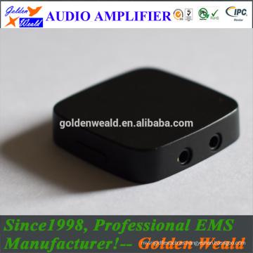 HiFi amplificador de auriculares estéreo amplificador de auriculares amplificador de batería recargable