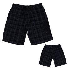 Yj-3025 Hommes Velcro Plaid Running Short Shorts Running Outfits