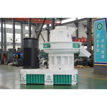 Straw and wood biomass pellet machine