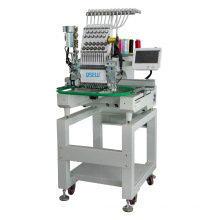 QS-1201ZD Single Head Computerized Embroidery Machine Dahao Computer for T shirt logo label rope Embroidery Machine