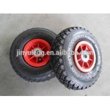 10 pulgadas 300-4 rueda de la carretilla y tubo del neumático