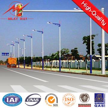 Durable Double Arm / Single Arm Signal Traffic Light Pole LED Stop Lights Pole