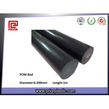 Material antiestático Black POM Polyacetal Rod