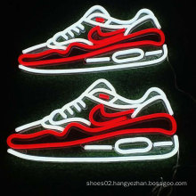 Custom Acrylic Sneaker led neon shoe sign street light neon sign