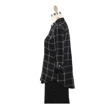 Damen Tops Spring New Arrival Plaid Shirt