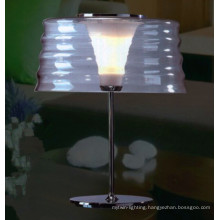 Modern Indoor Bedside Glass Table Lamp for Hotel Project