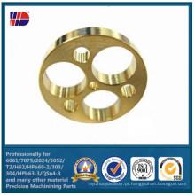 Peças de automóvel de bronze dos furos de perfuração do CNC (WKC-369)