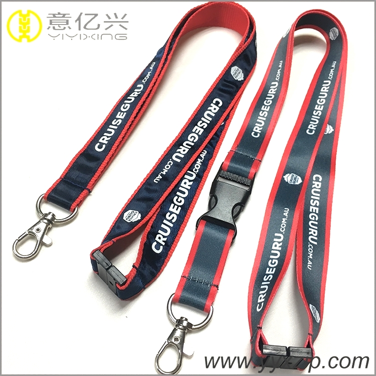 personalized silkscreen lanyard