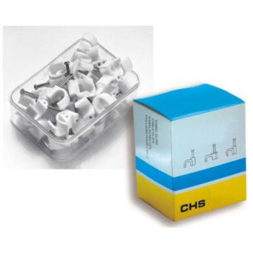 Clip de câble avec matériel en plastique à ongles