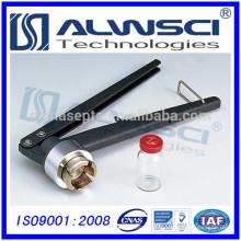 Acier inoxydable 13mm Plastic Aluminium Cap Crimper