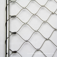 304/316L Stainless Steel Rope Mesh for Bridge Mesh Stair Protection Net