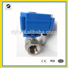 5 В постоянного тока мотор 2way шариковый клапан для защиты окружающей среды и системы канализации,проект водоочистки