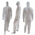 Einweg-Schutzanzug zur Isolierung von Arbeitskleidung CE