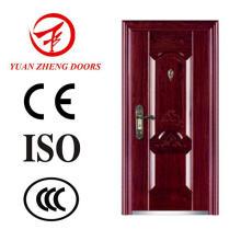 Fornecedor de China Porta de entrada de aço de segurança de luxo