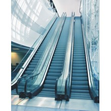 Supermarket Aluminum alloy step escalator