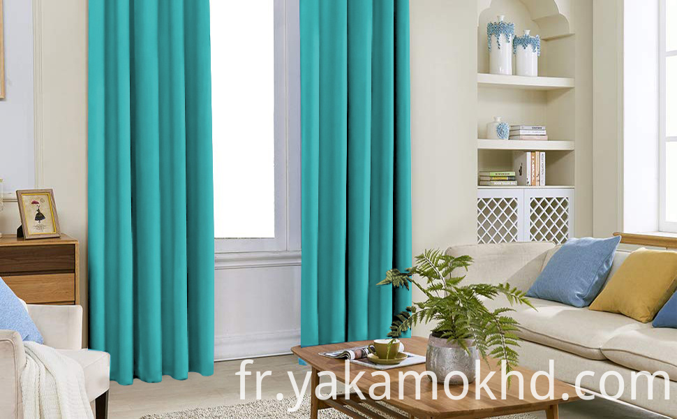 Teal Curtains for Bedroom