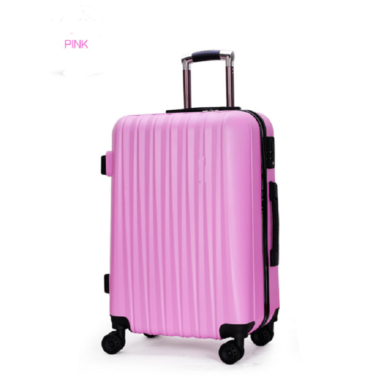 Pink Travel Luggage